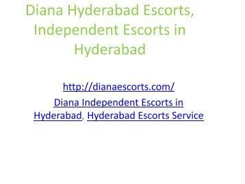 Diana Hyderabad Escorts, Independent Escorts in Hyderabad
