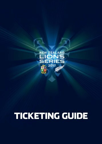 TICKETING GUIDE