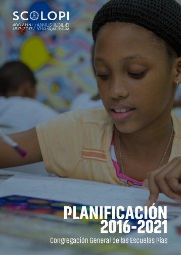 PLANIFICACIÓN 2016-2021
