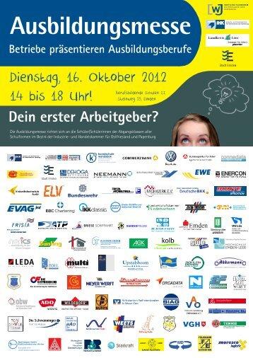 Ausbildungsmesse Betriebe präsentieren ... - BBS II Emden