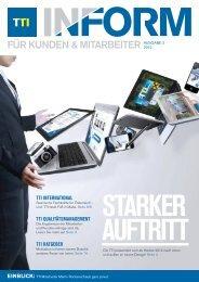 TTI Inform Ausgabe 02/2012 - TTI Personaldienstleistung GmbH