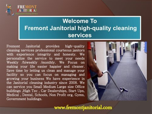 Residential Cleaning in Fremont|Fremont janitorial