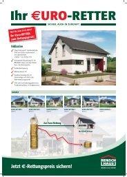 Jetzt €-Rettungspreis sichern! - Rensch-Haus GmbH