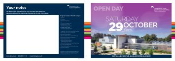 oxstalls-open-day-29-october-2016