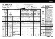 KitchenAid Grand Prix CO - Dryer - Grand Prix CO - Dryer EN (857589912030) Scheda programmi