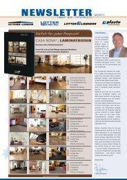 NEWSLETTER 02/2011 - Lotter + Liebherr GmbH