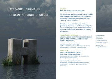 STEFANIE HERRMANN DESIGN INDIVIDUELL WIE SIE