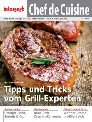 Tipps und Tricks vom Grill-Experten - Intergast