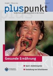 Pluspunkt Ausgabe 1 Februar 2005 - Lehrer-Online