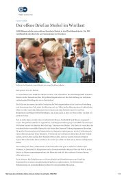 2015-10-23 Offener Brief an Angela Merkel - Deutsche Welle