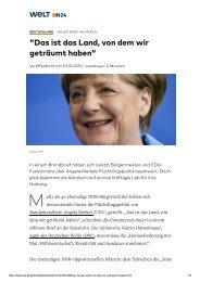 2015-10-23 Offener Brief an Bundeskanzlerin Angela Merkel