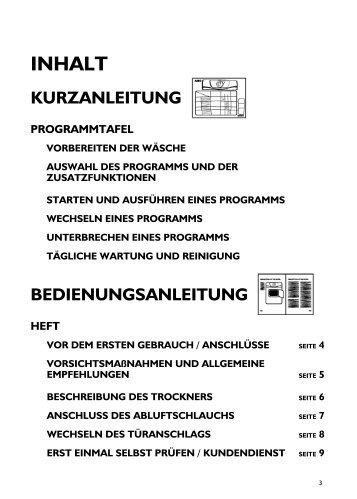 KitchenAid DK 5140 E - Dryer - DK 5140 E - Dryer DE (854021420000) Istruzioni per l'Uso