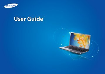 "Samsung Series 3 17.3"" Notebook - NP350E7C-A01US - User Manual (Windows 8) ver. 1.3 (ENGLISH,15.53 MB)"
