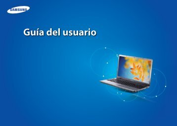 "Samsung Series 3 Notebook (15.6"" HD / Dual Core) - NP355V5C-A02US - User Manual (Windows 8) ver. 1.3 (SPANISH,15.48 MB)"