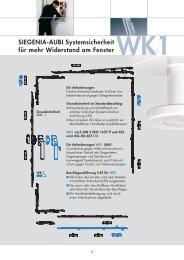SIEGENIA-AUBI Systemsicherheit für mehr Widerstand am Fenster