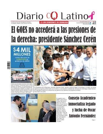 Edición 29 de Octubre de 2016