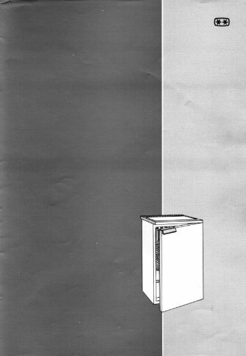 KitchenAid KEC 1532/0 WS - Refrigerator - KEC 1532/0 WS - Refrigerator SV (855061501000) Mode d'emploi
