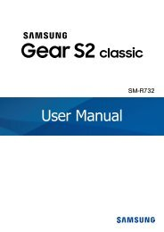 Samsung Gear S2 classic Platinum - SM-R7320WDAXAR - User Manual ver. Tiezen WAC (ENGLISH(North America),0.0 MB)