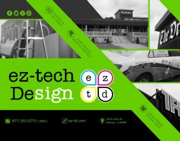 Ez-Tech Design Brochure