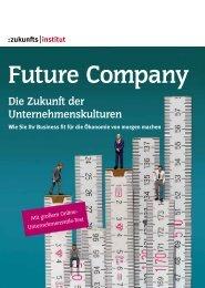 Future Company - Die Zukunft der Unternehmenskulturen