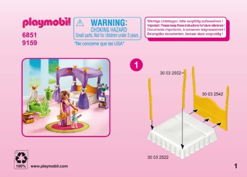 Playmobil 6851 Manual and user guide - ManualsMania