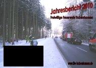 Jahresbericht 2010 - Freiwillige Feuerwehr Babenhausen