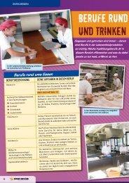 Berufe rund ums Essen und Trinken - Planet Beruf.de