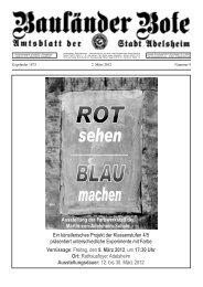 9. März 2012 - Adelsheim