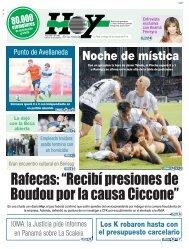 """Rafecas """"Recibí presiones de Boudou por la causa Ciccone"""""""