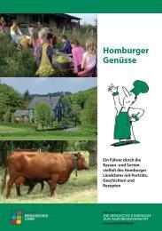 Homburger Genüsse - Naturpark Bergisches Land