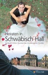 Heiraten in - Stadt Schwäbisch Hall