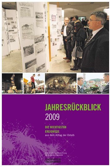 Jahresrückblick 2009 - Gmünder Tagespost