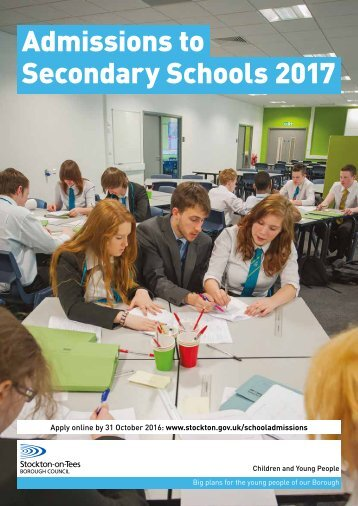 Admissions to Secondary Schools 2017