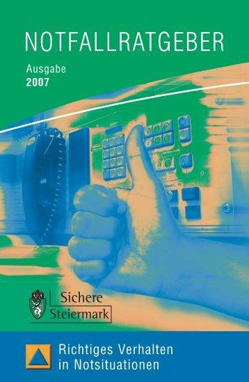 Download - beim Zivilschutzverband Steiermark