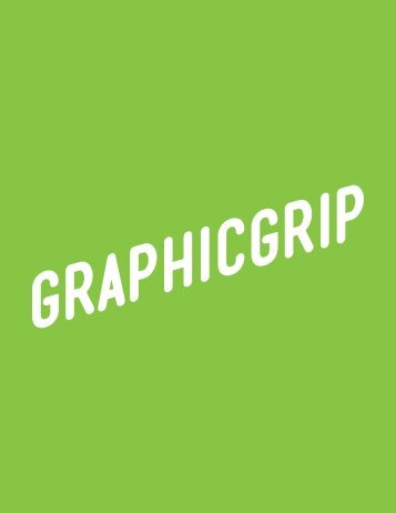 Graphic Grip 2016 Catalog