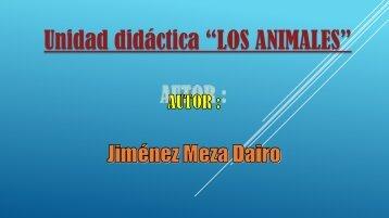 UNIDAD DIDÁCTICA LOS ANIMALES