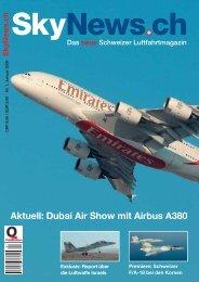 Aktuell: Dubai Air Show mit Airbus A380 - SkyNews.ch