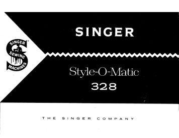 Singer Style-O-Matic - English - User Manual