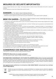 Singer SES2000 - English, French, Spanish - User Manual