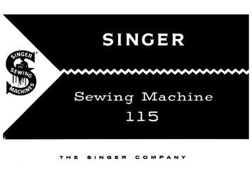Singer 115 - English - User Manual
