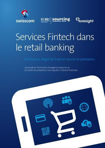 Services Fintech dans le retail banking