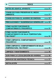 KitchenAid RF 46-B - Fridge/freezer combination - RF 46-B - Fridge/freezer combination ES (853963693000) Mode d'emploi