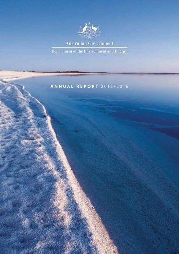 ANNUAL REPORT 2015–2016