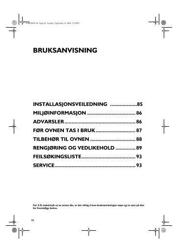 KitchenAid OVN 608 W - Oven - OVN 608 W - Oven NO (857923301010) Istruzioni per l'Uso
