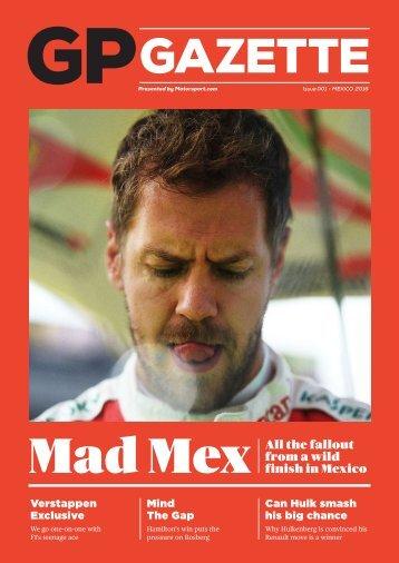 GP Gazette Issue #01 – Mexico 2016
