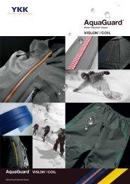 YKK Zipper AquaGuard Series