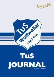 TuS Journal - TuS Wattweiler 1962