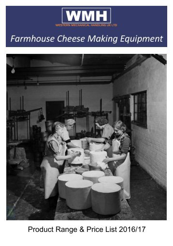 Farmhouse Cheese Making Equipment