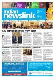 November 1, 2016 Indian Newslink Digital Edition