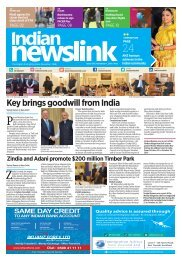 November 1, 2016 Indian Newslink Digital Edition